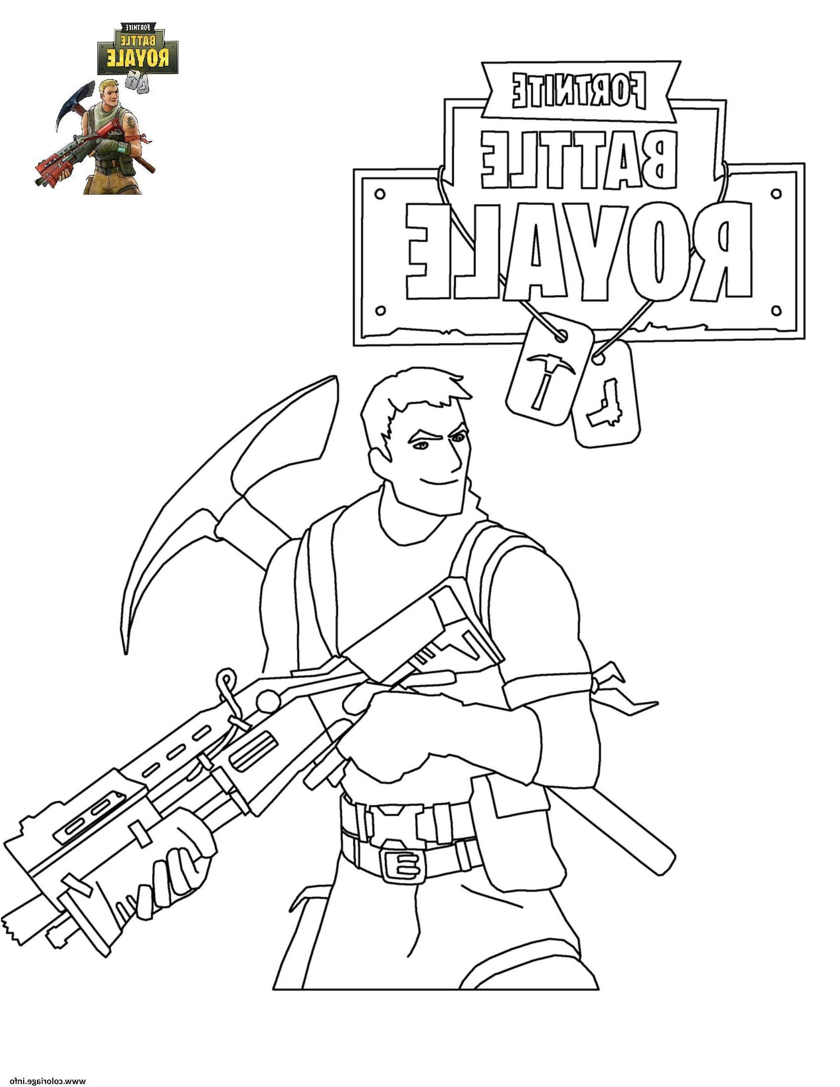 Coloriage Fortnite Battle Royale Jecolorie Coloriage Livre Coloriage Page De Coloriage