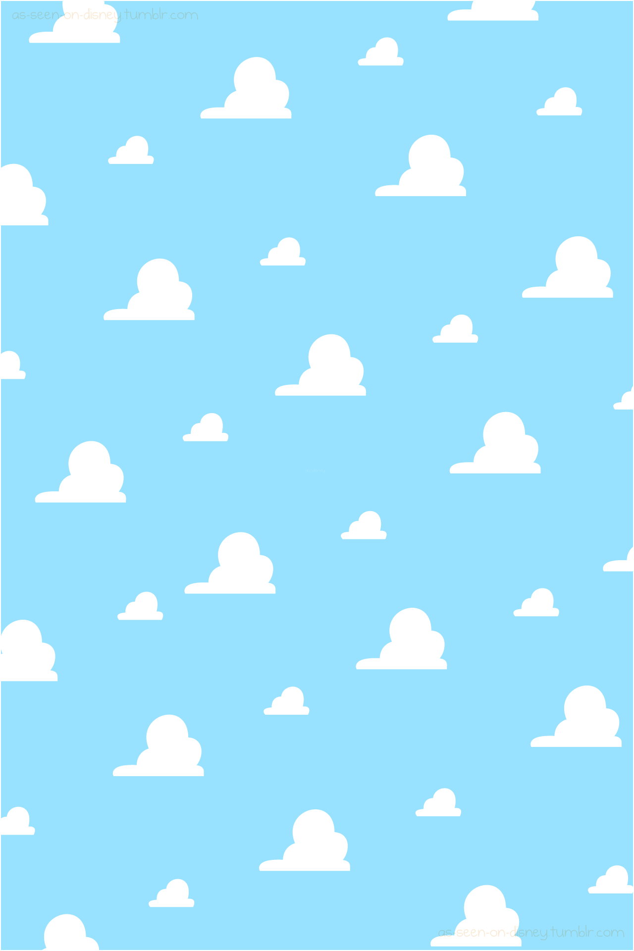 Clouds Background Toy Story Clouds Clouds Wallpaper Iphone