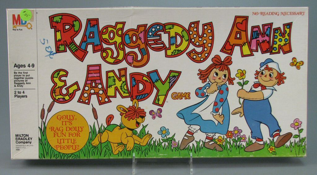 Raggedy Ann and Andy Game