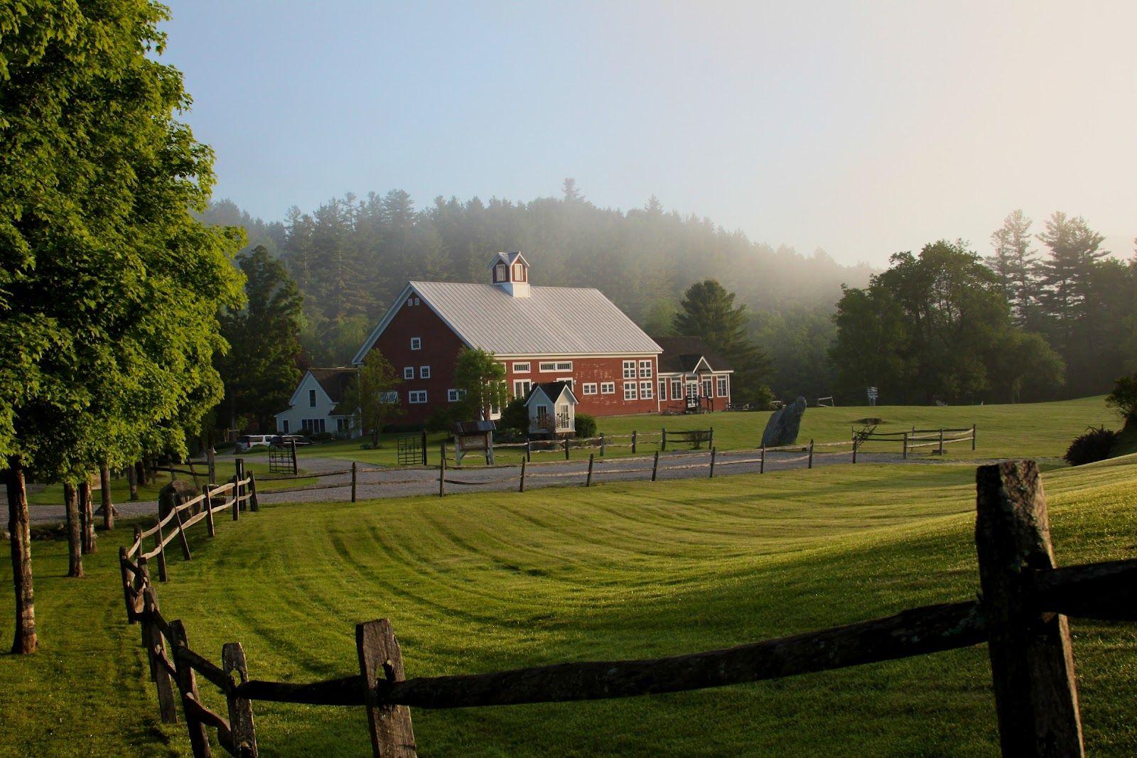 Riverside Farm Vermont Early Morning Hike At Riverside