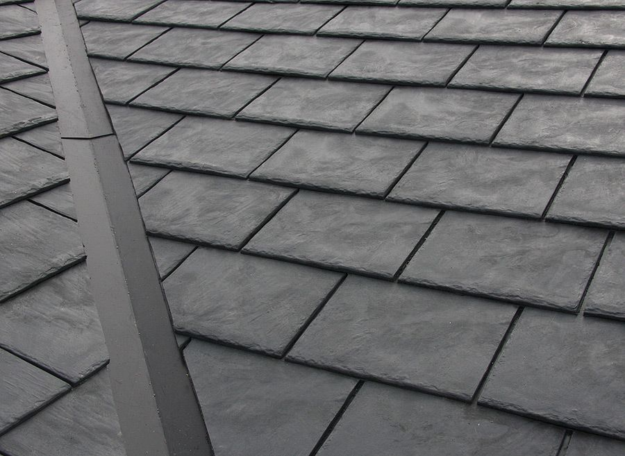 Heritage Slate Rubber Roof Product Roofing Slate