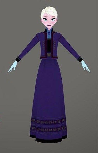 Concept Art Frozen 2 Outfits