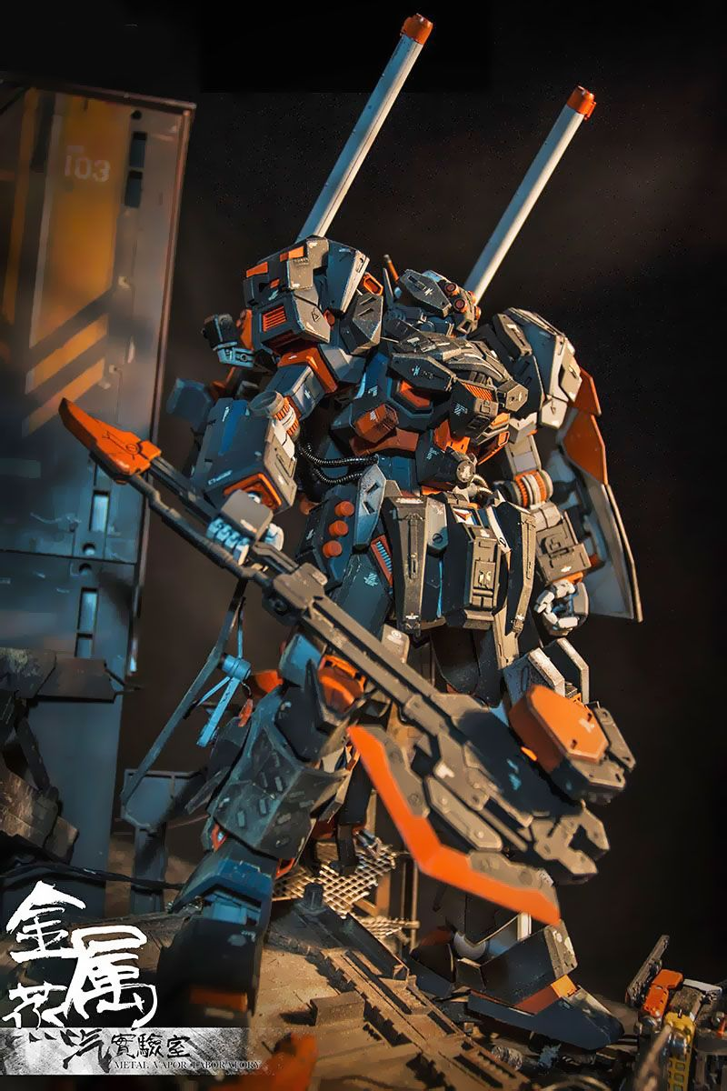 Gundam guy mg 1100 full metal armored jesta diorama