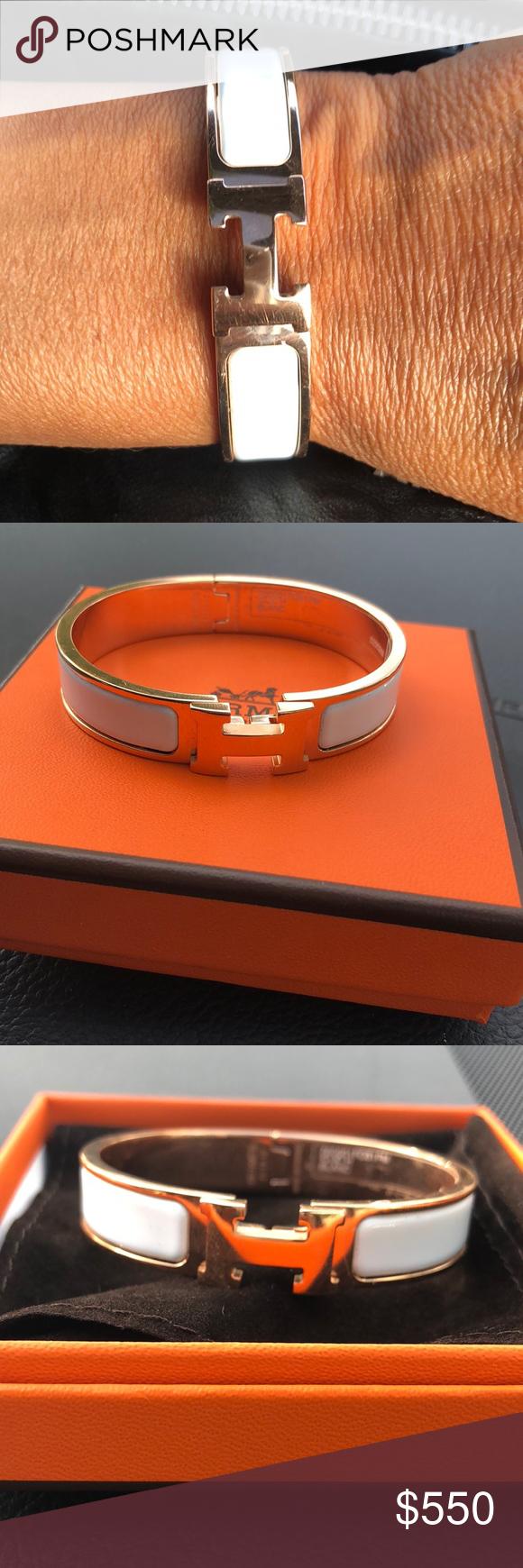 Hermès enamel h bracelet my posh picks pinterest hermes