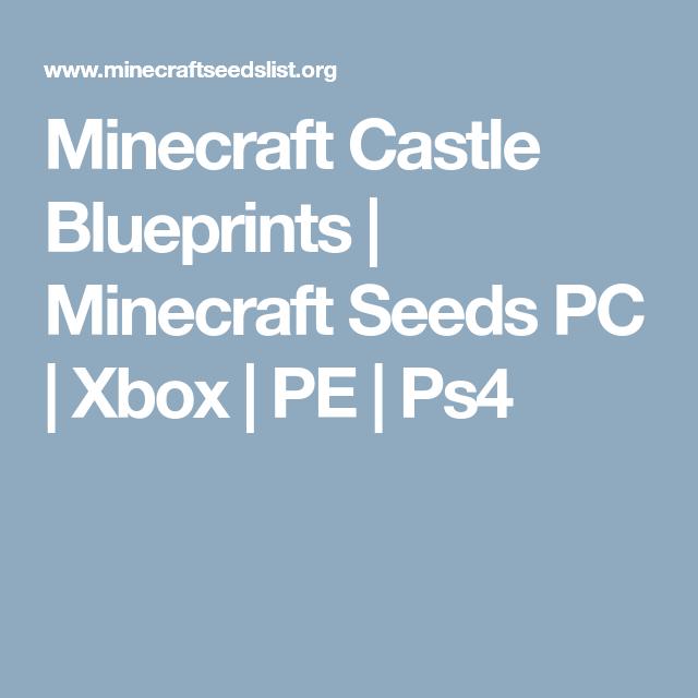 Minecraft castle blueprints minecraft seeds pc xbox pe ps4 minecraft castle blueprints minecraft seeds pc xbox pe ps4 malvernweather Choice Image