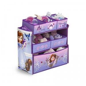 Sofia the First Multi-Bin Toy Organizer from Delta Children\'s ...