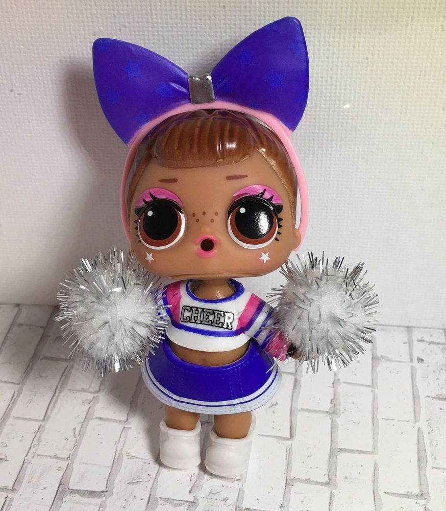 LOL Surprise Sis Cheer Series 4 Under Wraps Wave 2 Cheerleader Doll ... 4ae9d73d0f37
