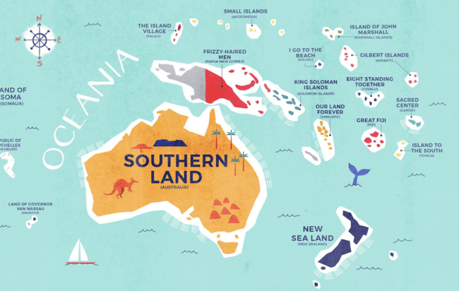 This Incredible Map Shows The Literal Meaning Of Every Country S Name Country Names Map Country