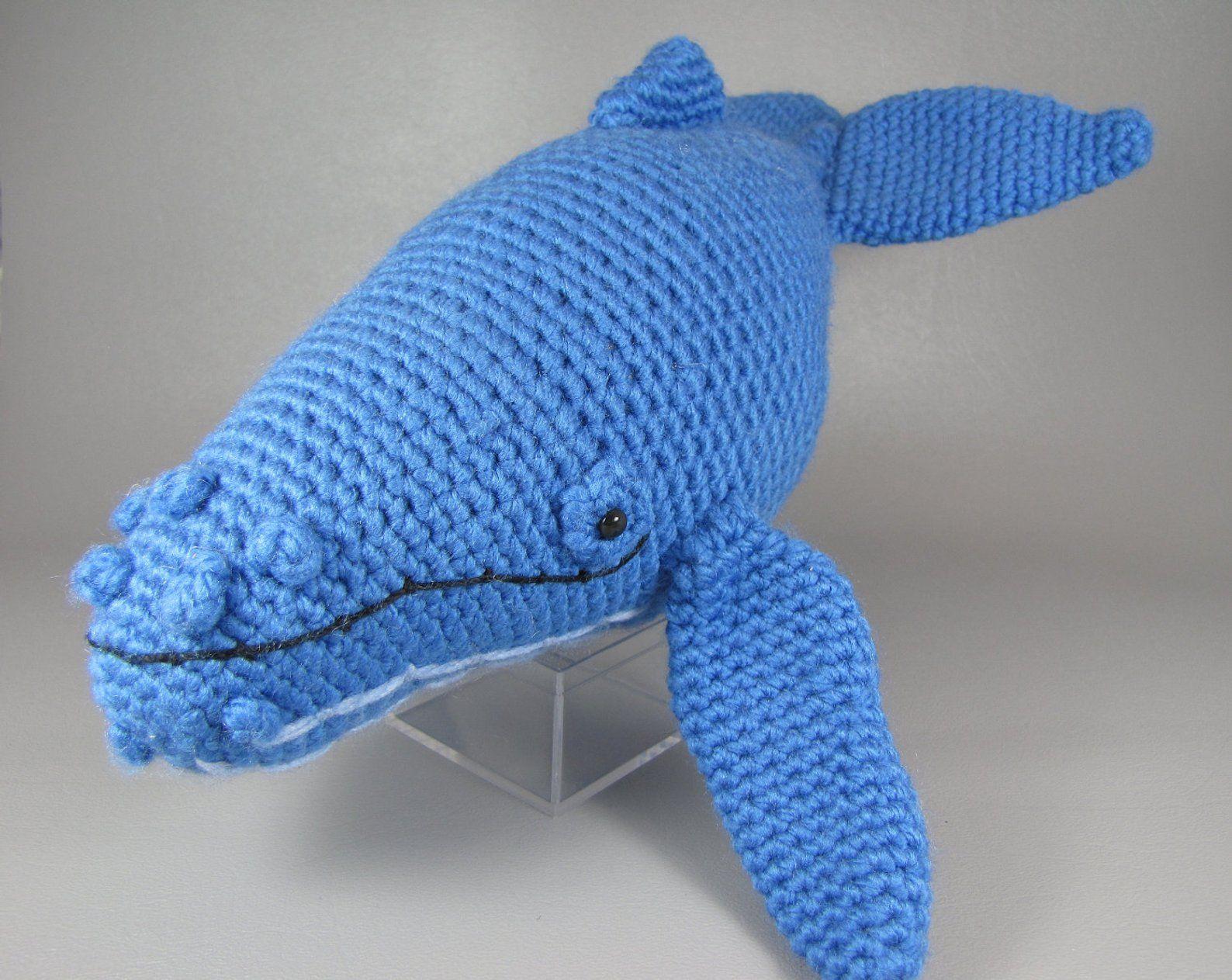 Baby Humpback Whale Free Crochet Pattern | Amigurumi | 1263x1588
