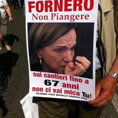Fornero show!!!!..... #ridere #ridiamo #humor #satira #umorismo ...