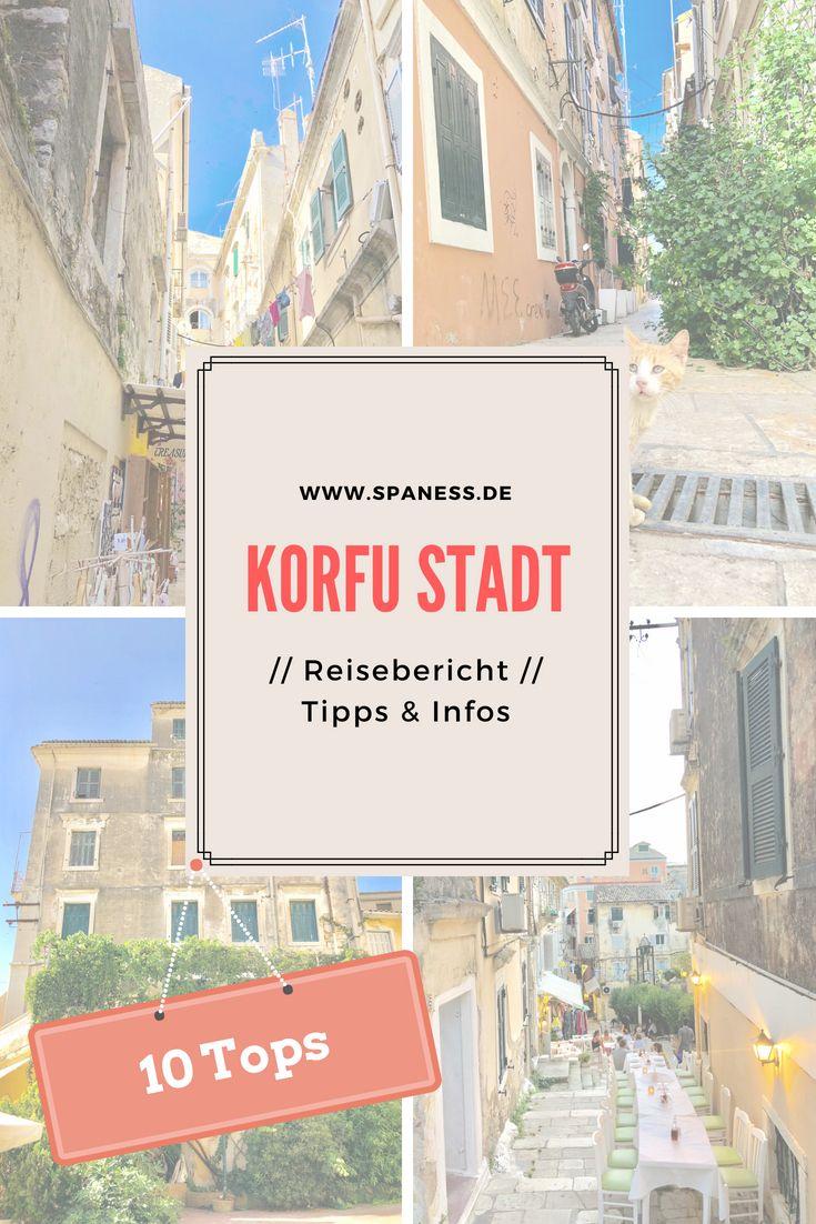 Reiseblogger Griechenland Europa Reise Wandern Korfu Stadt 10