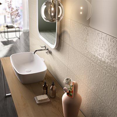 Carrelage faience Poétique Bathroom Pinterest