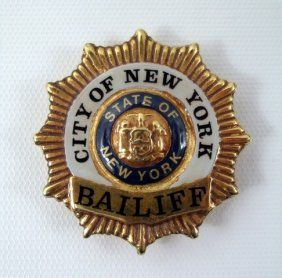 Night Court bailiff badge | Charlie!! | Fire badge, Police