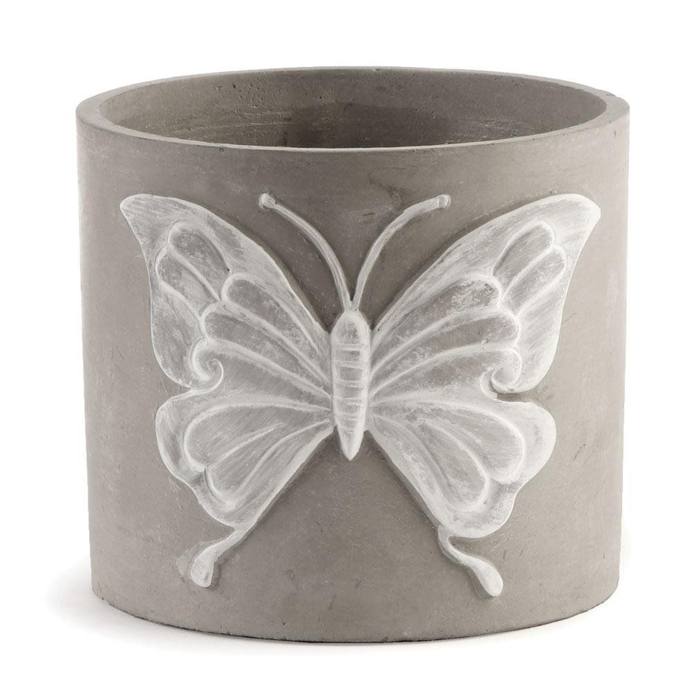 Napa Home and Garden 6inch Butterfly Cachepot