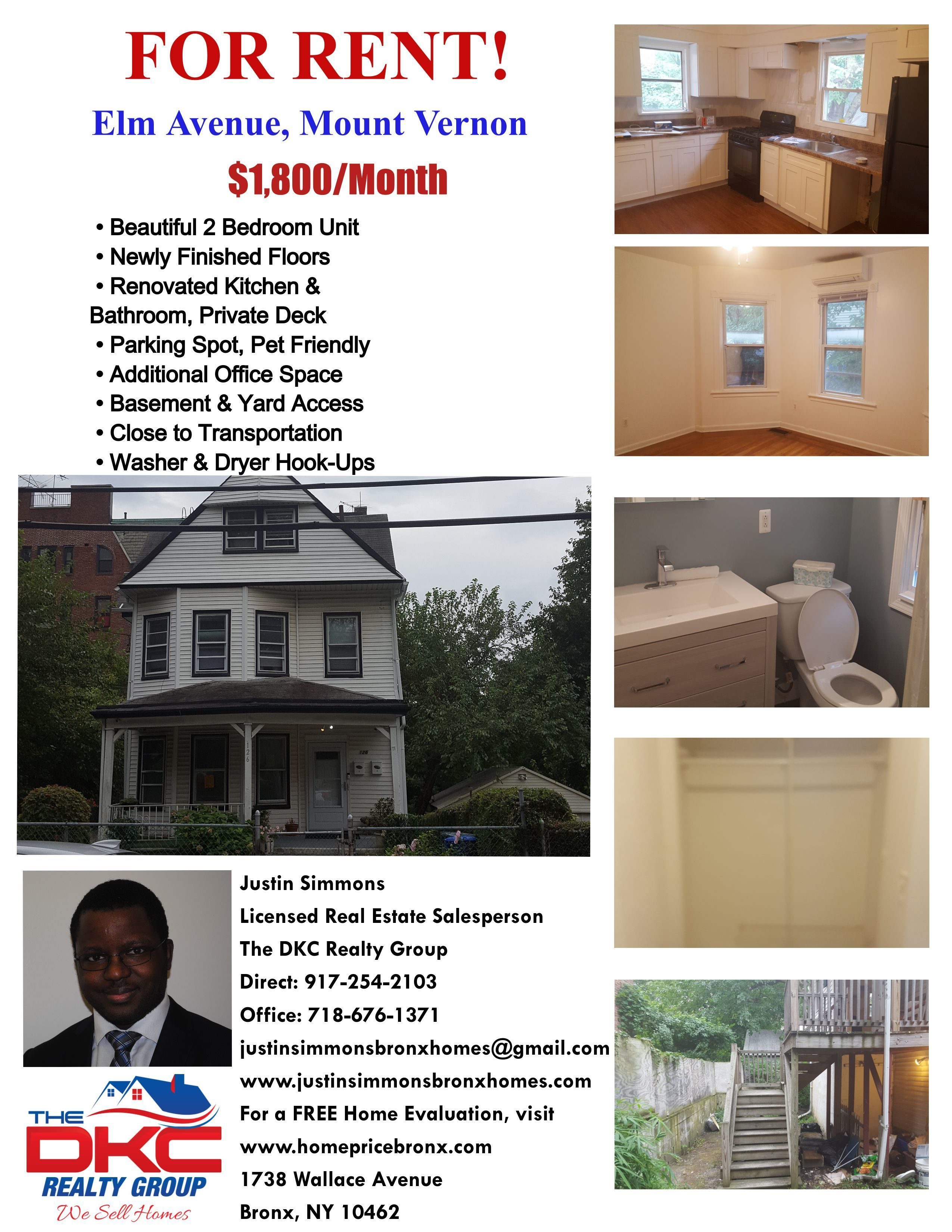 Beautiful Two Bedroom Apartment For Rent In Mount Vernon Westchester If You Are Interested In Scheduli Apartments For Rent Cool Apartments Downtown Apartment