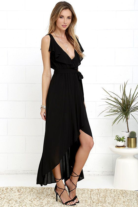 4b042670d6 This Merriment to Be Black High-Low Dress has all of the little details we  love. Get it now on ShopStyle and stay sexy!