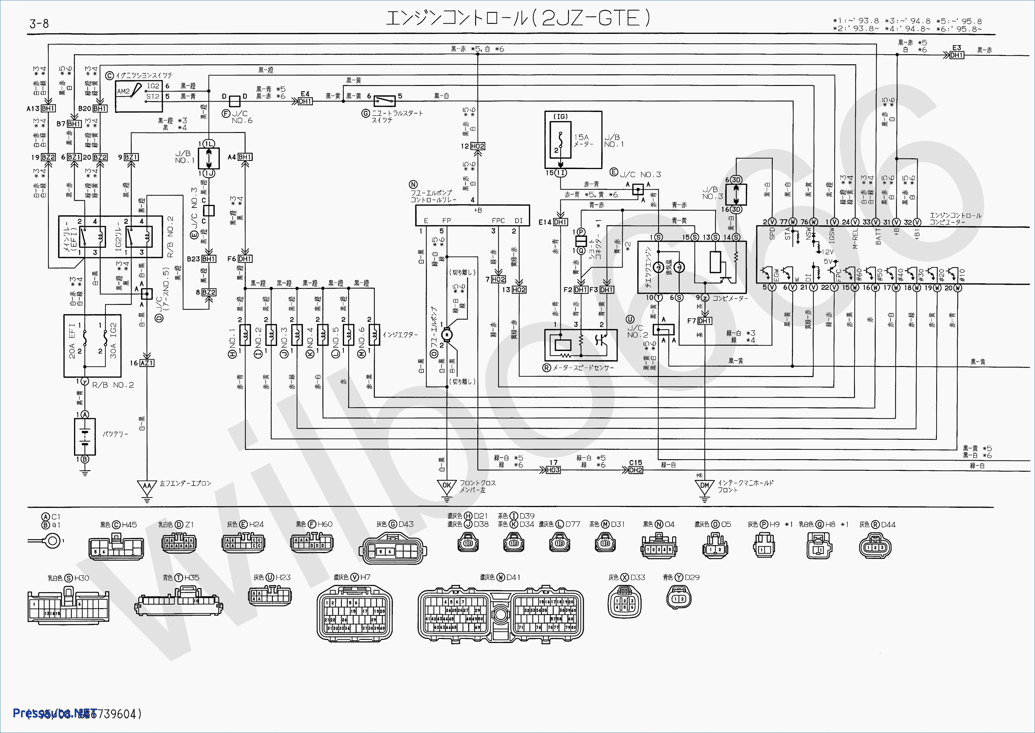 1jz Fse Engine Ecu Wiring Diagram 1jz Inside
