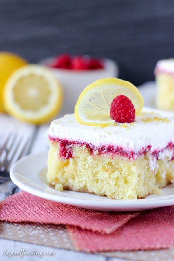 Easy Lemon Cake Recipe Lemon Raspberry Poke Cake Recipe Easy Lemon Cake Recipe Lemon Cake Recipe Lemon Cake Easy