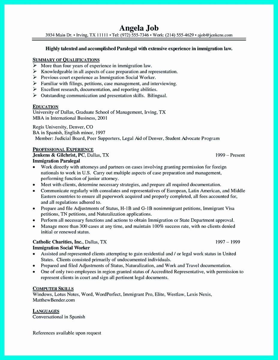 25 Entry Level social Worker Resume Student resume