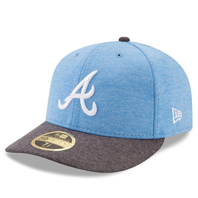 the latest d863a 2e044 Atlanta Braves New Era 2017 Father s Day Low Profile 59FIFTY Fitted Hat -  Heather Blue