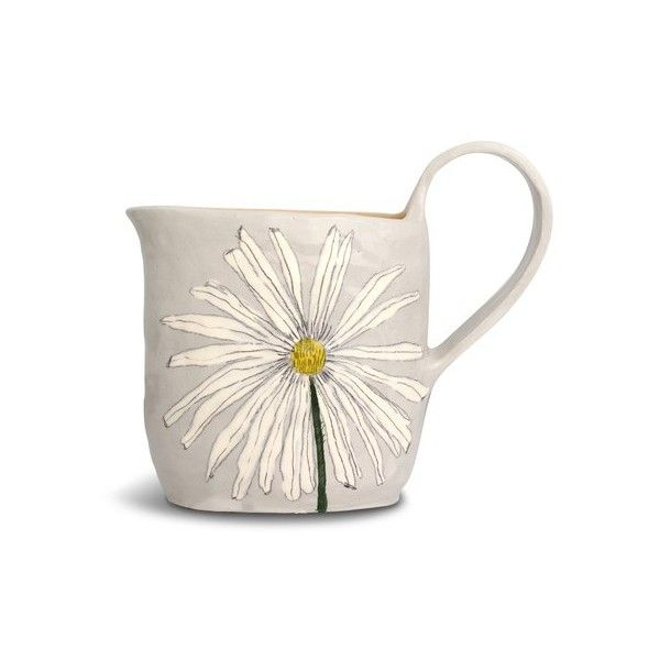 This Ceramic Mug Is Sweet, Artful And Sophisticated All At The Same Time.