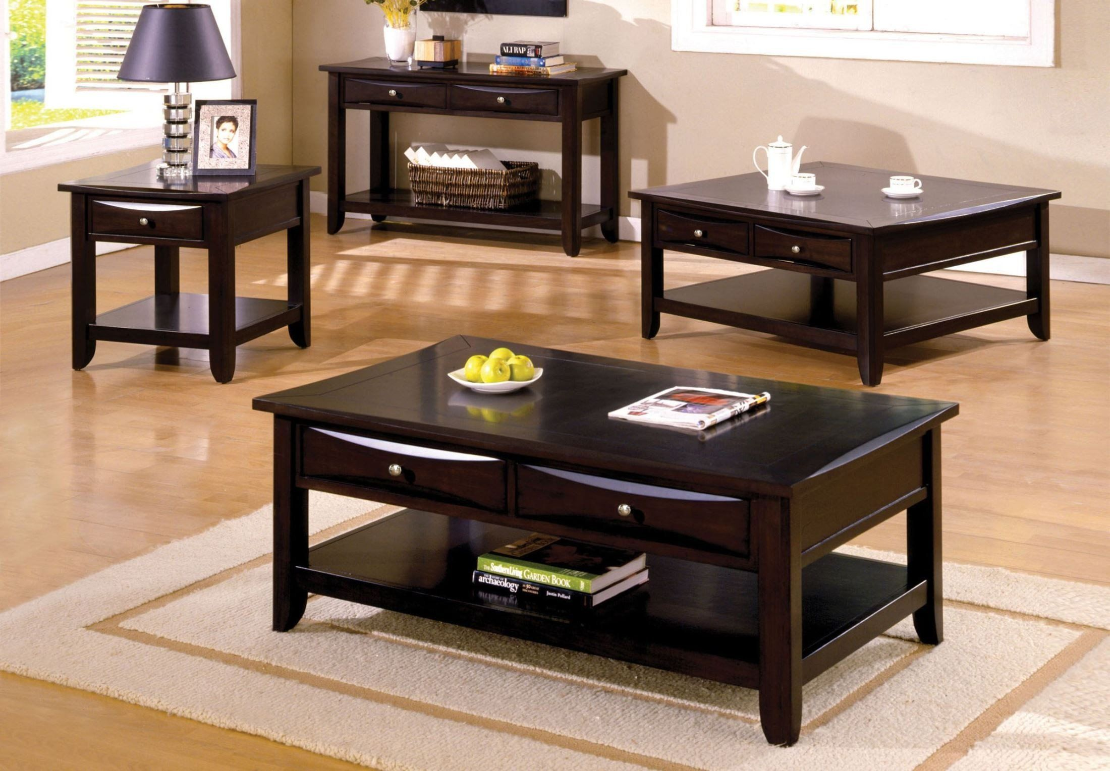 Baldwin Occassional Collection 4 piece coffee table set