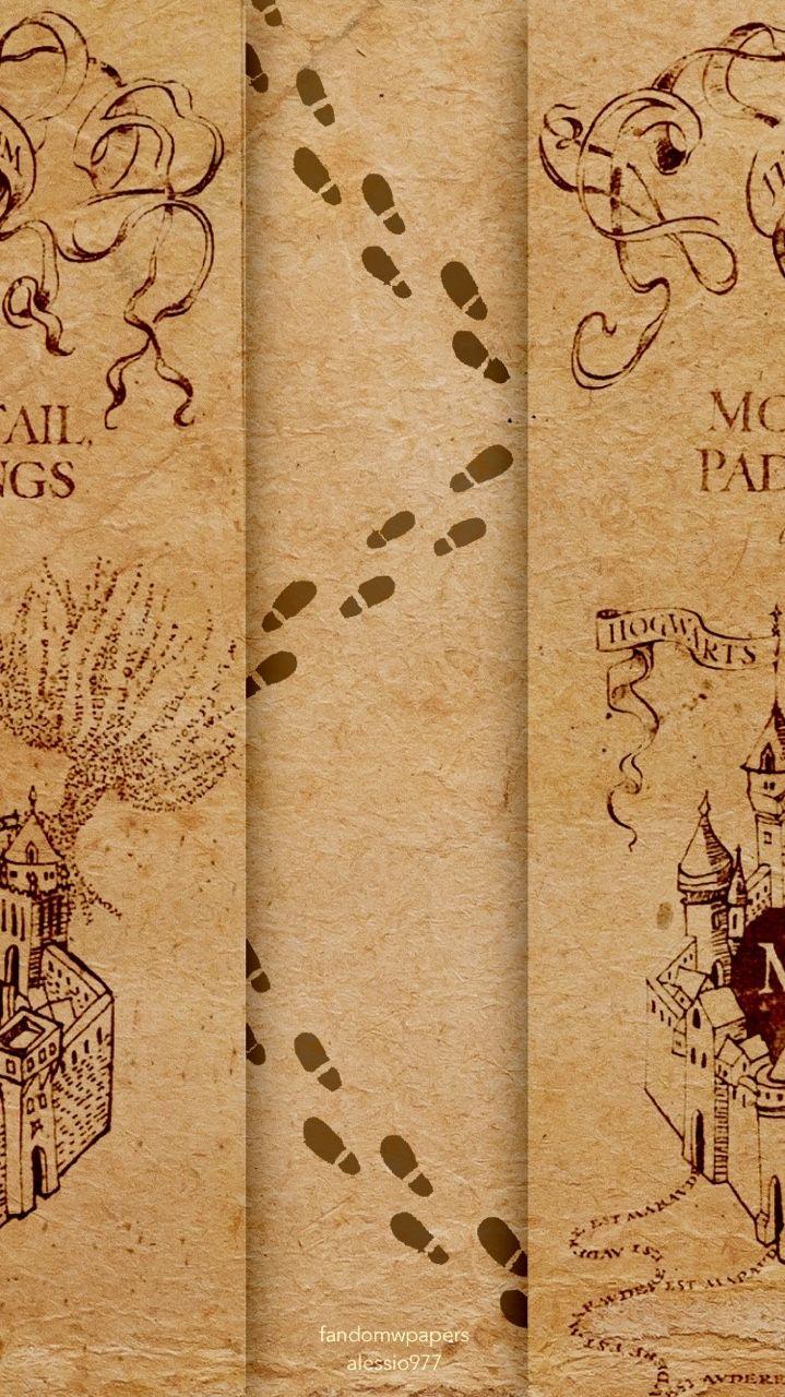 Marauders Map Backgrounds Harry Potter Wallpaper Harry Potter