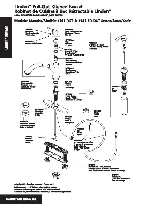 Delta Küche Wasserhahn Teile Interessante Schönen - Küchenmöbel ...