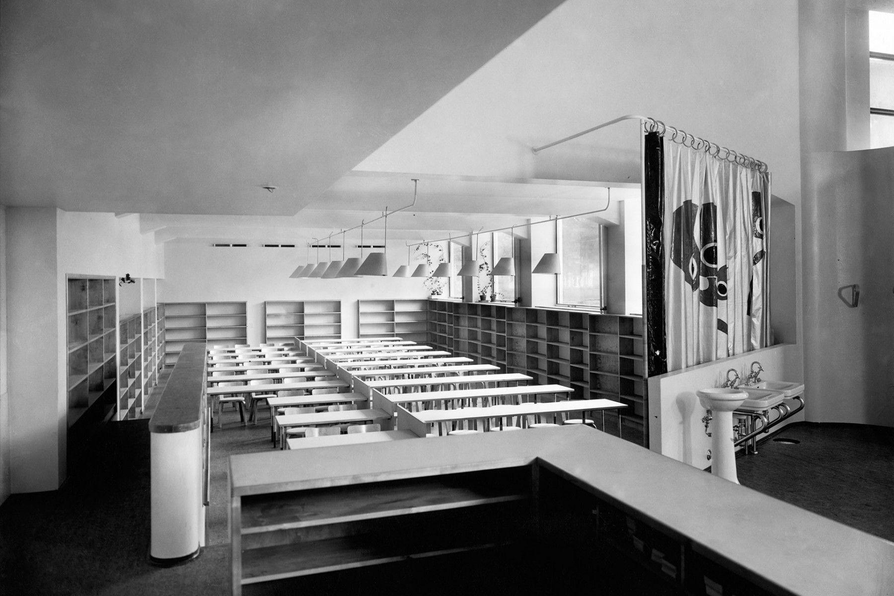 Alvar aalto house interior aino marsioaalto u alvar aaltous viipuri library interior of the