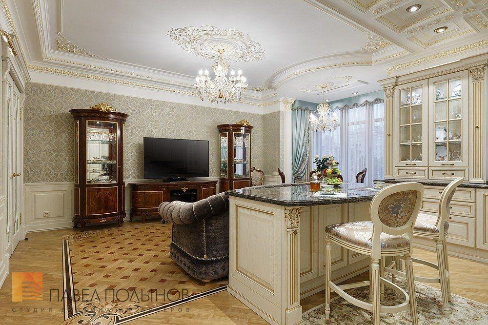 Фото отделка кухни-гостиной из проекта «Дизайн интерьера и ...