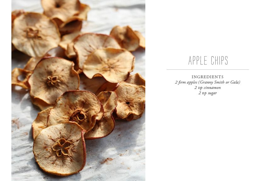 The Everyday Girl 3 Apple Recipes - Apple Chips, Cheddar Apple Quick Bread and Salad