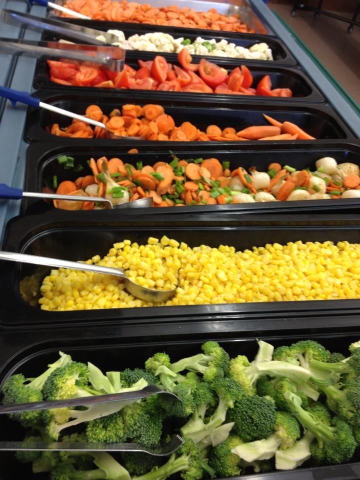 Pin on Eat Clean  Salad Bar Luncheon Ideas