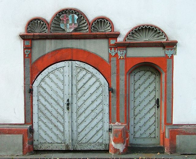 Little door big door -- Side doors to the Alte Burg (Old Castle & Alte Burg Doors | Big doors Doors and Architecture pezcame.com
