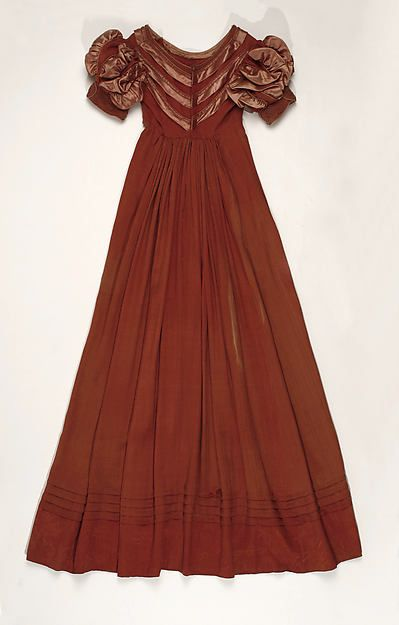 Dress, c. 1818, American.