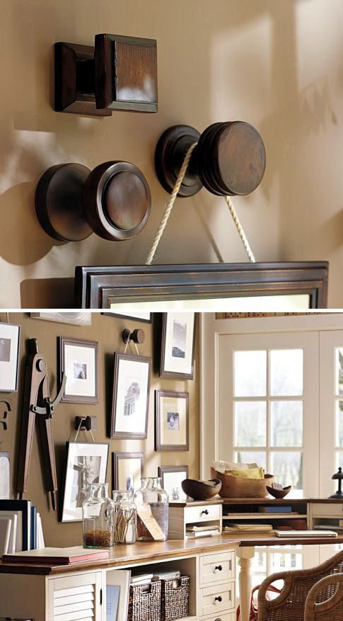 """HACKED :: Oversized Frame Hanger :: $24 