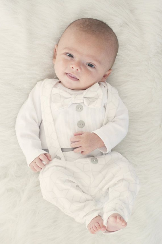 Baby Boy Blessing Outfit Baptism Outfit Boy Baby Boy Christening