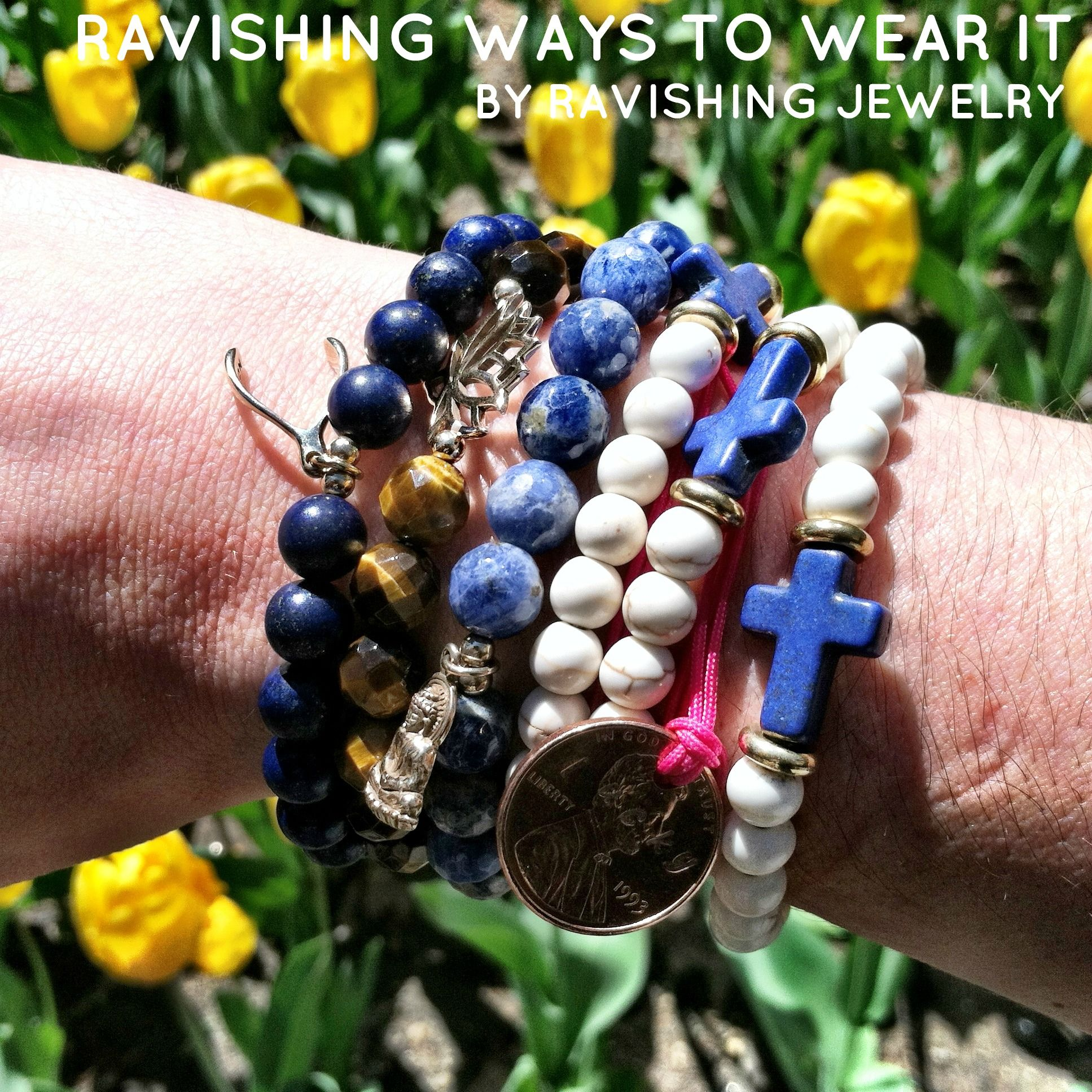 A combo of Ravishing Jewelry bracelets mixed and matched with meaning #jewelry #stack #bracelet #braceletstack #wristparty #charmbracelets #ravishing #ravishingjewelry #zen #inspired #yogajewelry #yogainspired #love #style #fashion #jewels