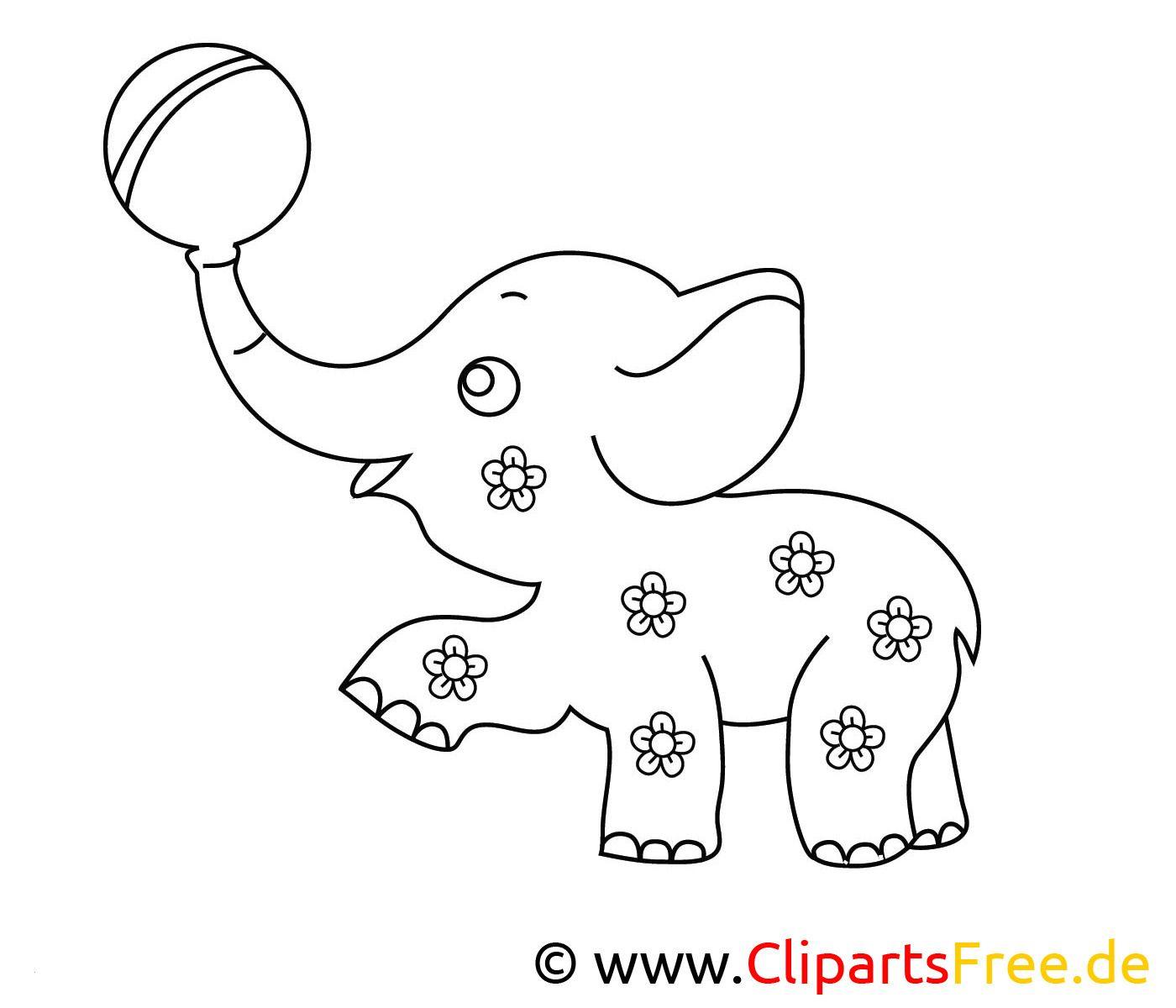 Ausmalbilder Elefant Zum Ausdrucken Kostenlos ...