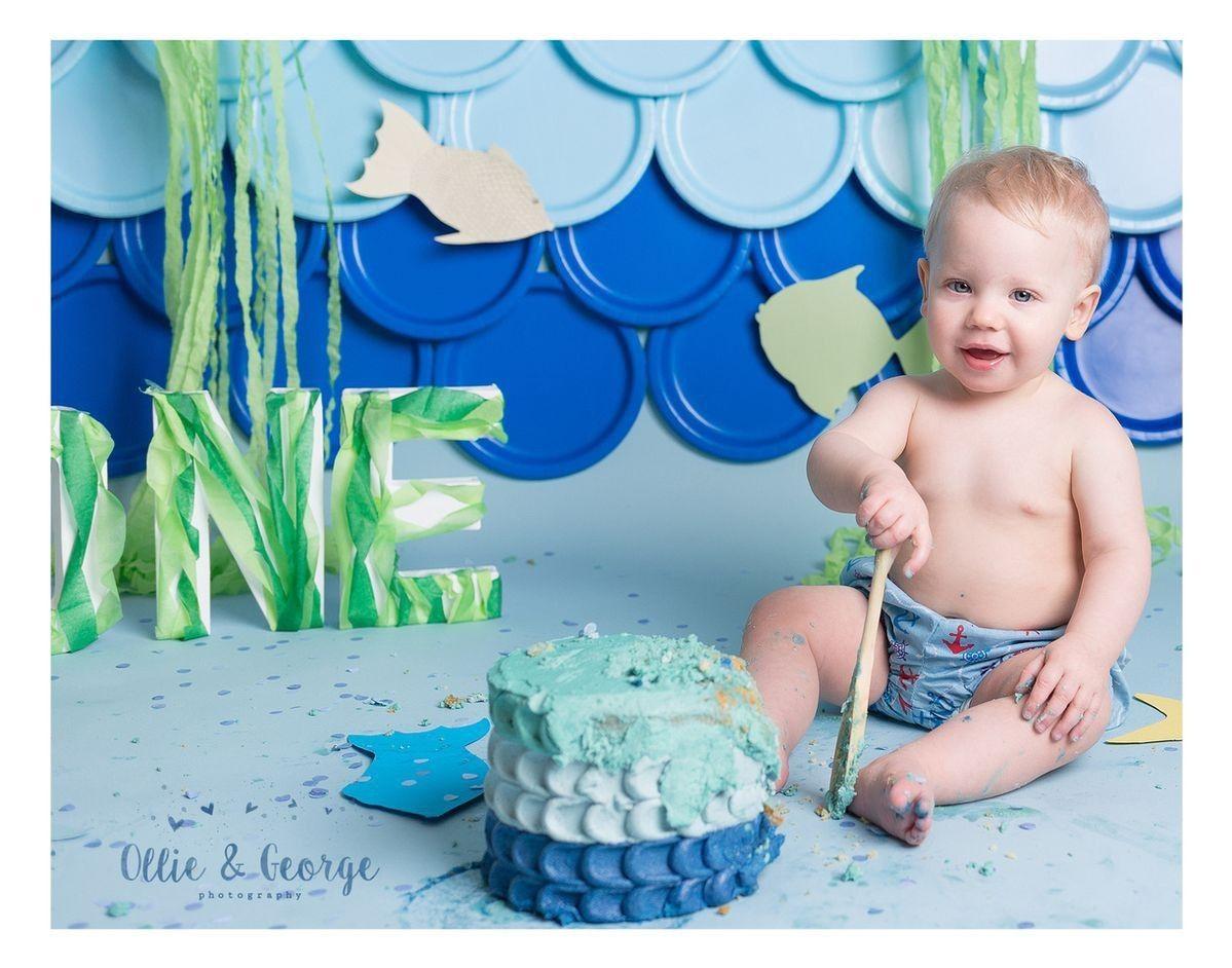 Pin by patty mondragon on fishing theme smash cake boy