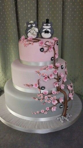 wedding cakes perthshire scotland my totoro wedding cake made by celebration stations in 25247