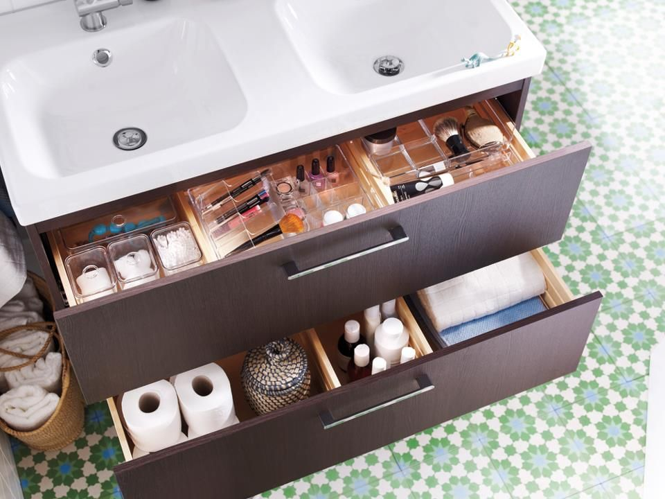 App Drawer Organizer Interesting Bought This Vanity And The Drawer Organizerslove It  Home Design Ideas