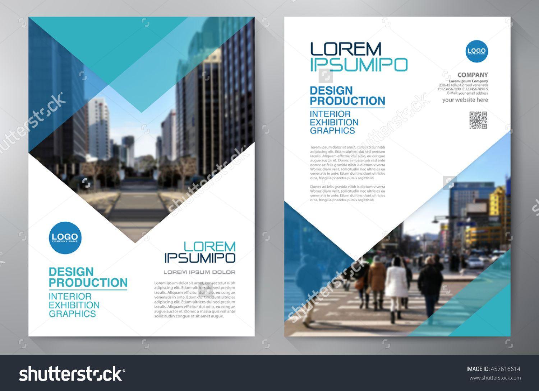 Business Brochure Flyer Design A Template Vector Illustration