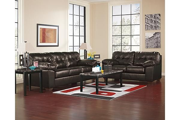 Best The Alliston Durablend® Loveseat From Ashley Furniture 640 x 480