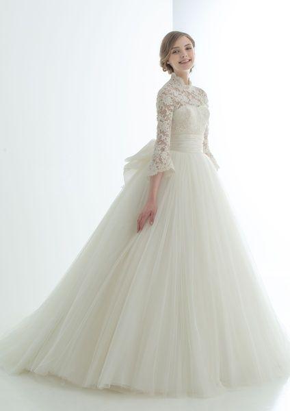 ELLE】ウエディングドレス・着物 エル・オンライン   Vestidos de novia ...