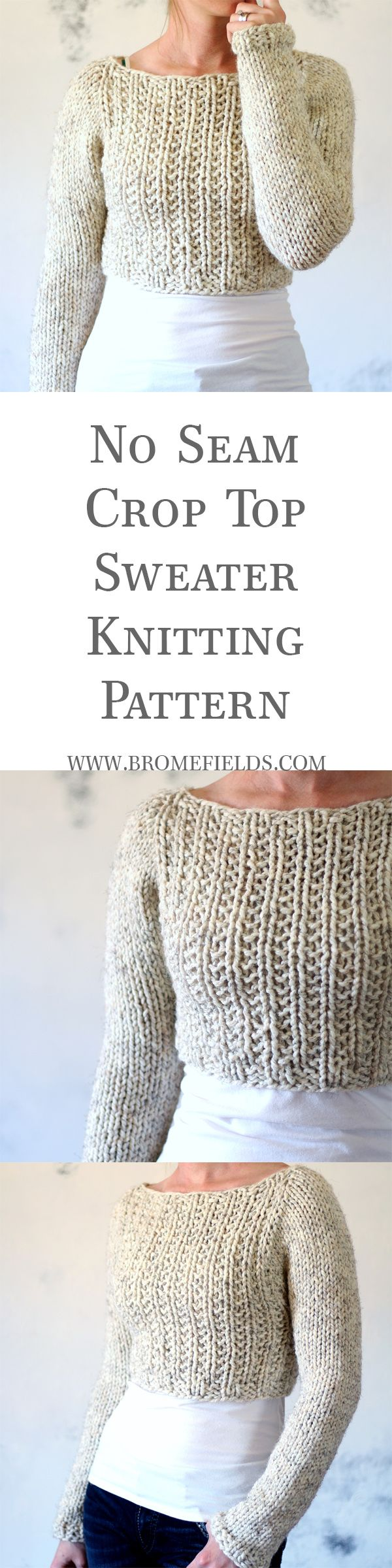 Quick & Easy Chunky Knit Sweater | Let\'s Get Knotty | Pinterest ...