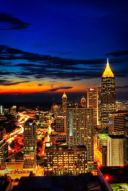 Atlanta, Georgia a beautiful city.