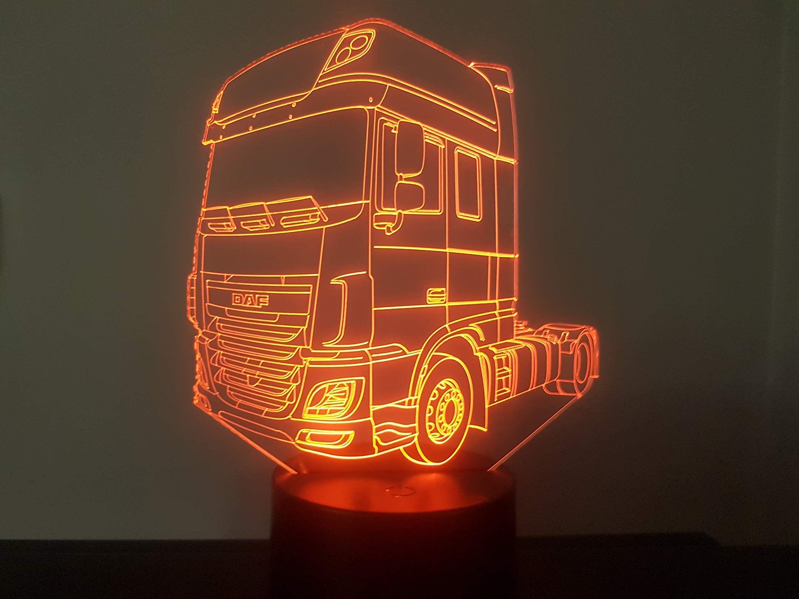 Lkw Daf Xf 106 3d Lampe Led Xf Daf Lkw Led Lkw Daf