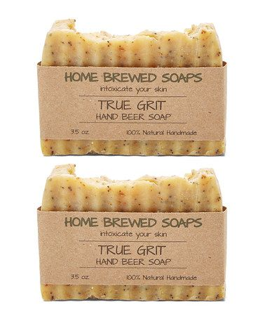 Another great find on #zulily! True Grit Hand Beer Scrub - Set of Two #zulilyfinds