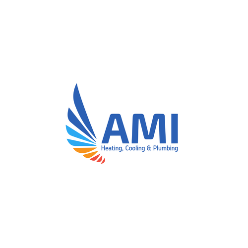 Ami Heating Cooling Plumbing Design A Catchy New Logo For