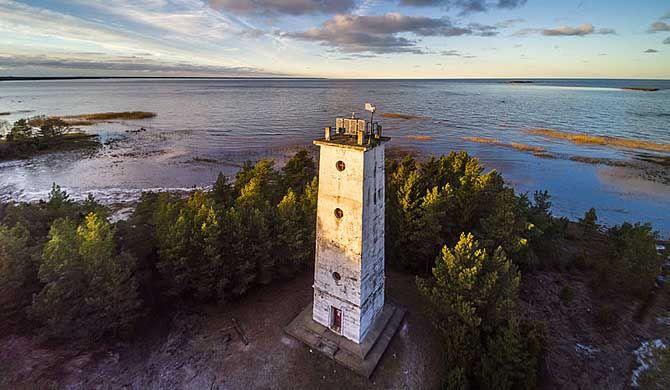 The Hiiessaare #Lighthouse is located in Hiiessaare. Hiiessaare is a village in Pühalepa Parish, Hiiu County in northwestern #Estonia.